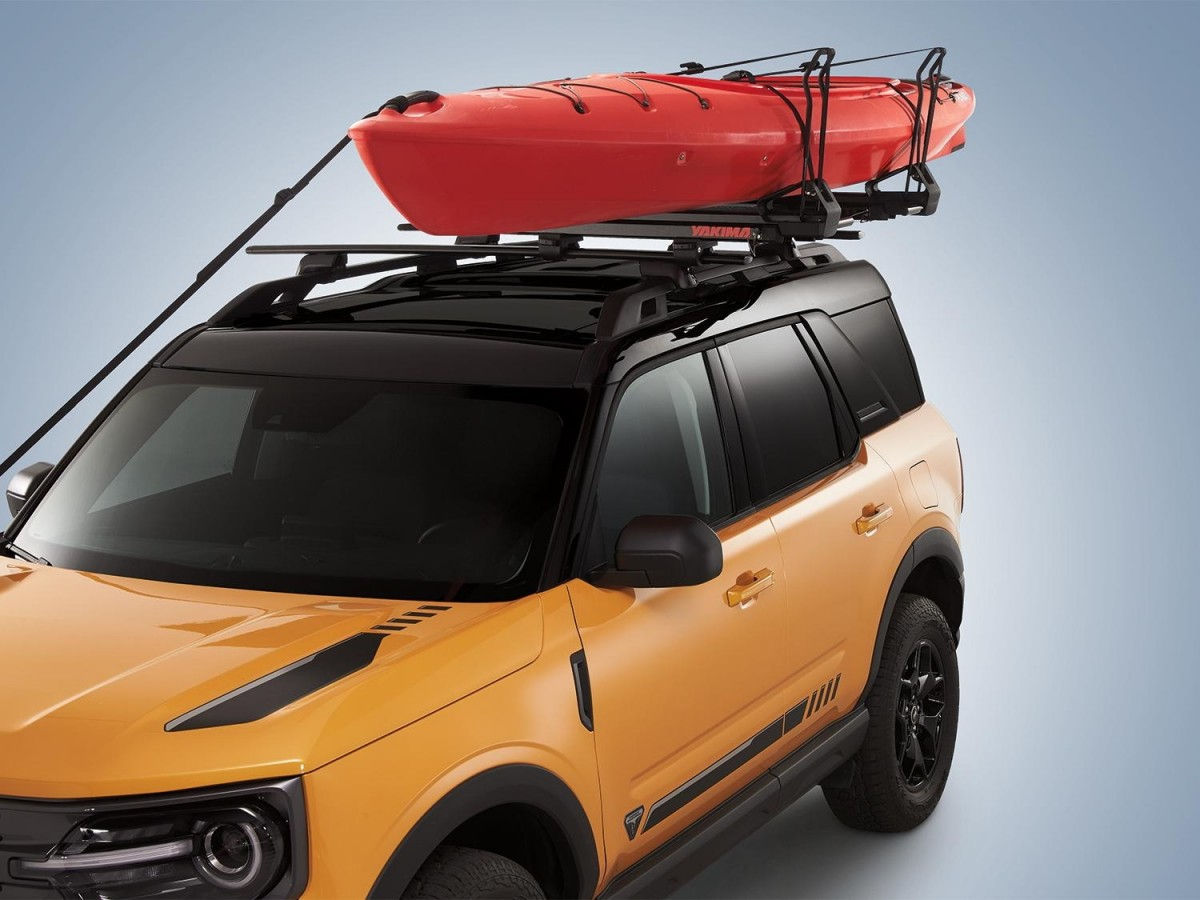 genuine ford kayak carrier by yakima load assist